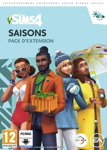 Les Sims 4 Seasons (code In A Box)