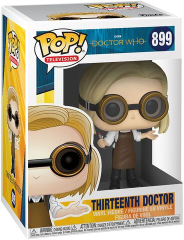 Figurine Funko Pop! N°899 - Doctor Who - 13th Doctor Avec Lunettes