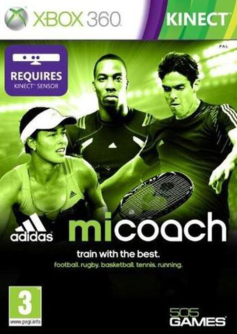 Micoach Adidas : Train With The Best (kinect)