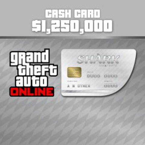 Dlc GTA V Great White Shark 1 250 000 GTA Dollars