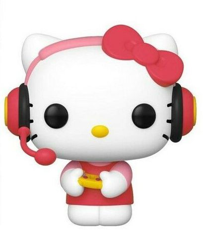 Figurine Funko Pop ! N°26 - Sanrio - Hello Kitty - Hello Kitty Gamer (exclusivité Micromania-Zing)
