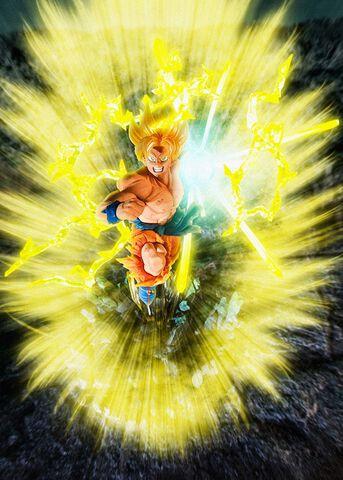 Figurine Figuarts Zero - Dragon Ball Z - Sangoku Burning Battles
