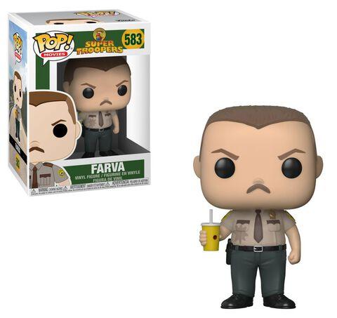 Figurine Funko Pop! N°583 - Super Troopers - Farva