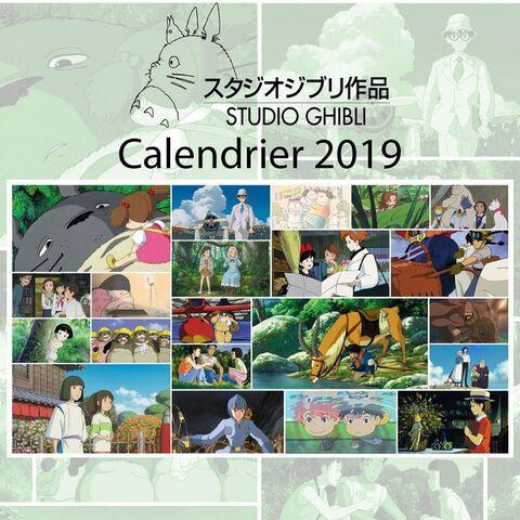 Calendrier - Ghibli - Officiel 2019