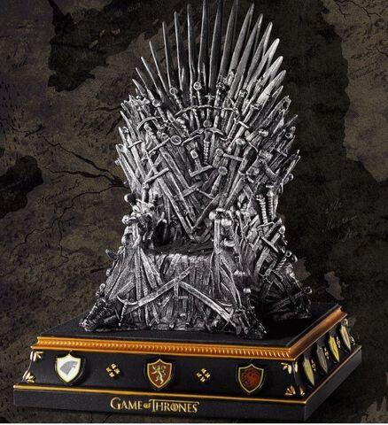 Serre Livre - Game of Thrones - Le Trône 19 cm