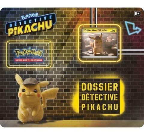 Pack Film - Pokémon - Détective Pikachu 3 Boosters