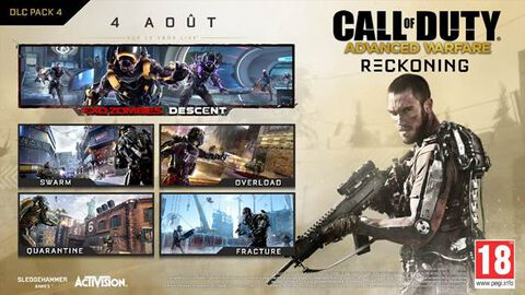DLC - Call of Duty : Advanced Warfare Reckoning - PS3-PS4