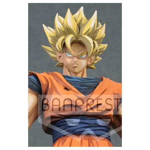 Figurine Grandista - Dragon Ball Z - Son Goku Super Saiyan 28 cm