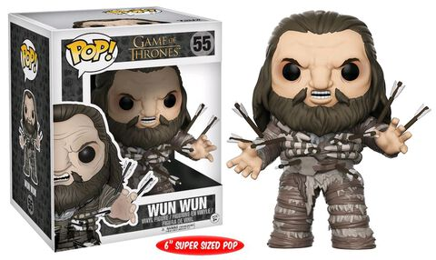 Figurine Funko Pop! N°55 - Game of Thrones - Wun Wun avec arrows - 15 cm