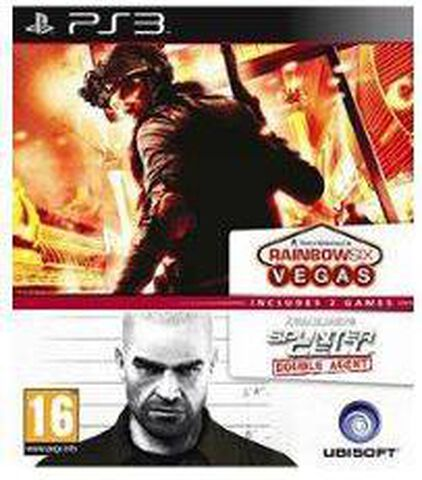 Compil Splinter Cell : Double Agent + Tom Clancy's Rainbow Six : Vegas
