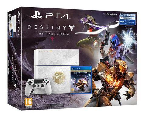 Pack PS4 500 Go Edition Spéciale + Destiny : Le Roi Des Corrompus Edition Légendaire
