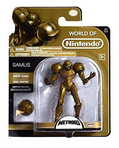 Figurine Trophy Series - Nintendo - Samus
