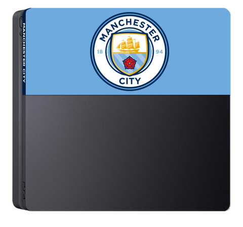Cover Plate Ps4 Slim Manchester City