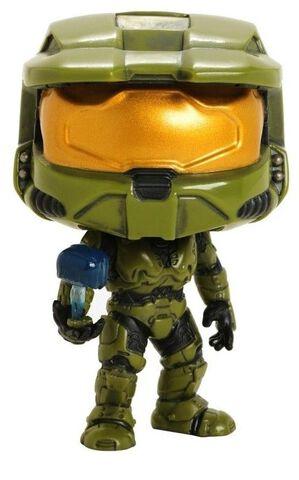 Figurine Funko Pop! N°07 - Halo - S1 Master Chief avec Cortana