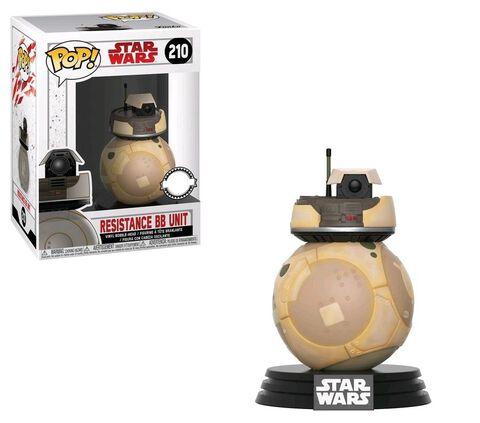 Figurine Funko Pop! N°210 - Star Wars - Resistance Bb Unit Beige