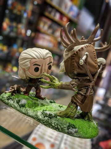 Figurine Funko Pop! N°555 - The Witcher - Geralt Vs Leshen
