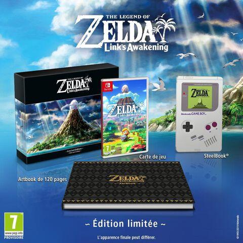 The Legend Of Zelda Link's Awakening Edition Limitee