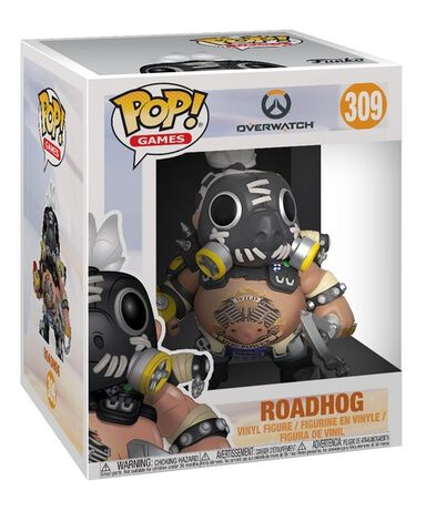 Figurine Funko Pop! N°309 - Overwatch - Série 3 Roadhog - 15 cm