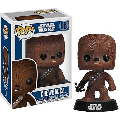 Figurine Funko Pop! N°06 - Star Wars - Chewbacca