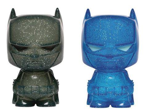 Figurines Hikari - DC Comics - Twin Pack Batman (Bleu et gris)