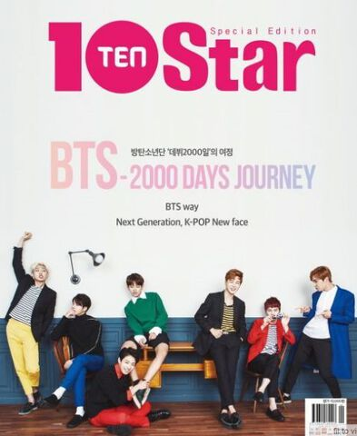 Bts 2000 Days Journey 10star Special Edition + Dvd