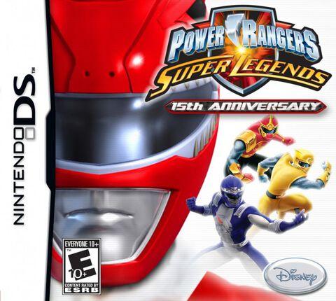 Power Rangers, Super Legends