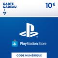 PSN Card 10 euros PS4 - PS3 - PS Vita