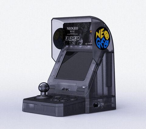 Neo Geo Mini Samurai Shodown Kuroko Noire
