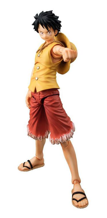 Figurine Megahouse - One Piece - Variable Action Heroes Monkey D Luffy Past Blue