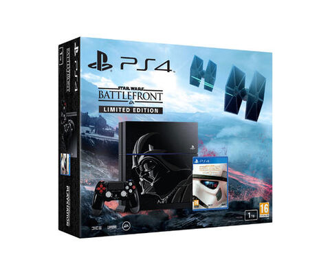 Pack PS4 1To Edition Spéciale + Star Wars Battlefront