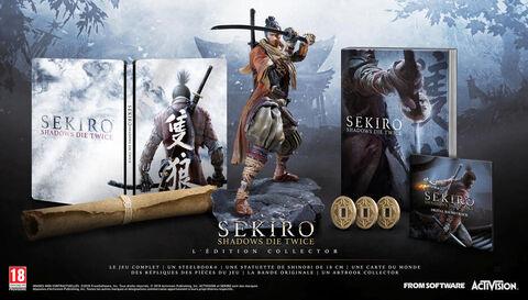 Sekiro Shadows Die Twice Collector Edition