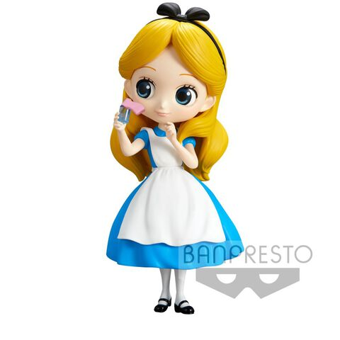 Figurine Q Posket - Alice au pays des Merveilles - Alice Thinking Time