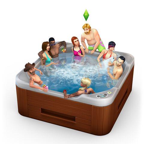 Les Sims 4: DLC kit d'objets ambiance patio