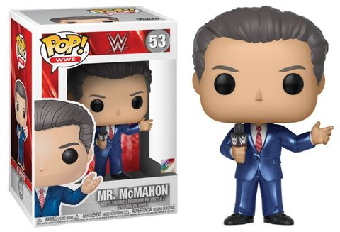 Figurine Funko Pop! N°53 - WWE - S8 Vince McMahon en costume