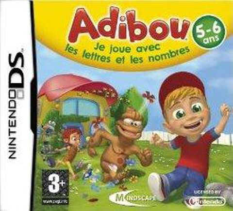 Adibou, Je Joue Avec Les Lettres Et Les Nombres 5-6 Ans