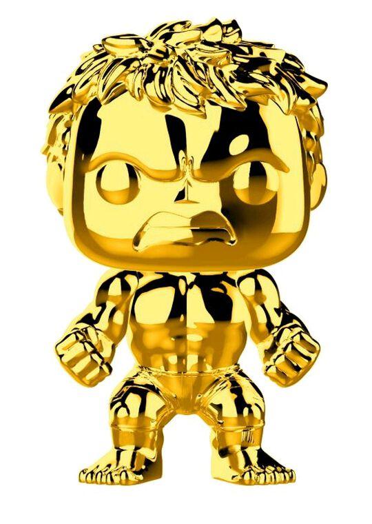 Figurine Funko Pop! N°379 - Marvel Studios 10 - Hulk (chrome)