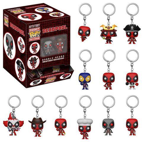 Porte-cles Funko Pop! Mystere - Deadpool - Playtime