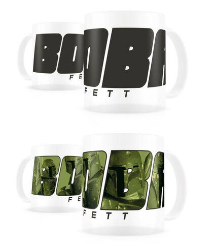 Mug - Star Wars - Thermo-sensible Boba Fett