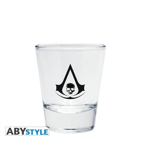 Verre à shot - Assassin's Creed - Set de 4 Shooters Emblème