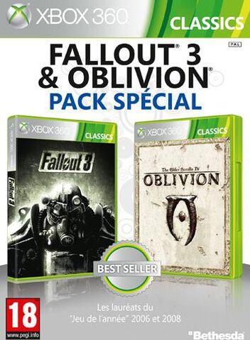 Pack The Elder Scrolls IV : Oblivion + Fallout 3