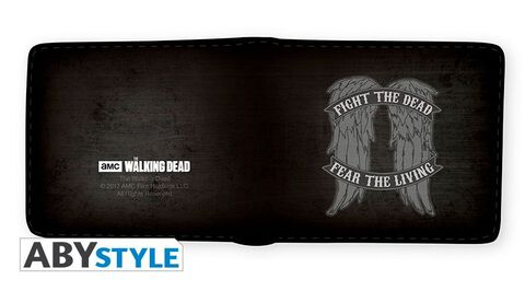 Portefeuille - The Walking Dead - Fight The Dead Fear The Living