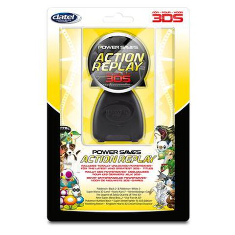 Action Replay 3ds Xl