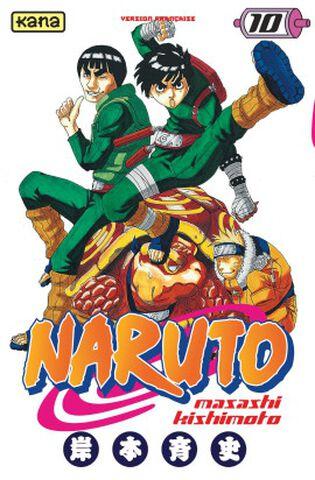 Manga - Naruto - Tome 10
