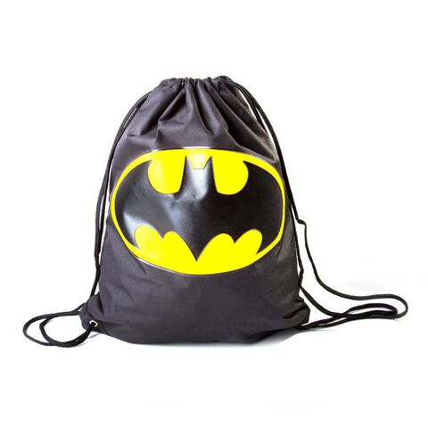Sac - Batman - Black Classic Yellow Logo