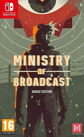 Ministry Of Broadcast Badge Edition Limitée & Numérotée 2k