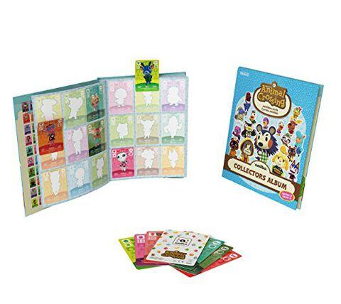 Album Collector cartes Amiibo Animal Crossing 3 + 3 Cartes