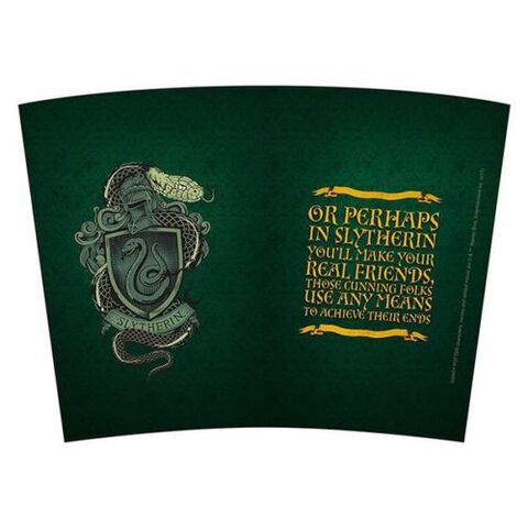Mug de voyage - Harry Potter - Serpentard