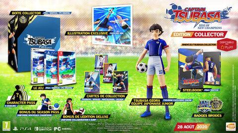 Captain Tsubasa: Rise Of New Champions Edition Collector