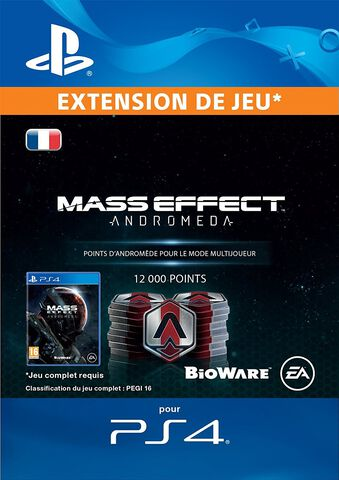 DLC - Mass Effect Andromeda 12 000 Points