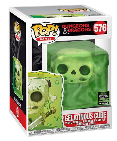 Figurine Funko Pop! N°576 - Dungeons & Dragons - Cube Gélatineux (eccc 2020)